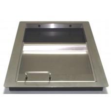 Паричник с подвижен контейнер  / лицев панел хром-никел/ №11