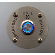 Авариен бутон с LED подсветка и микрофон (включен кабел)